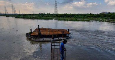 दिल्ली : यमुना के पानी  में बढ़ा अमोनिया, दिल्ली में हो सकती है पीने के पानी  की किल्लत