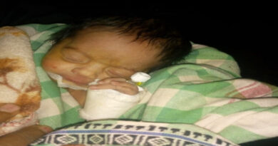 Unclaimed baby girl recovered live from RIMS campus
