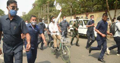 मुख्यमंत्री हेमन्त सोरेन ने साइकिल रैली को किया रवाना