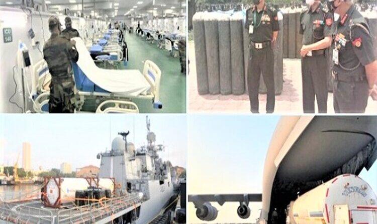 सेनाओं ने तेज की 'तीसरी लहर' का मुकाबला करने की तैयारी