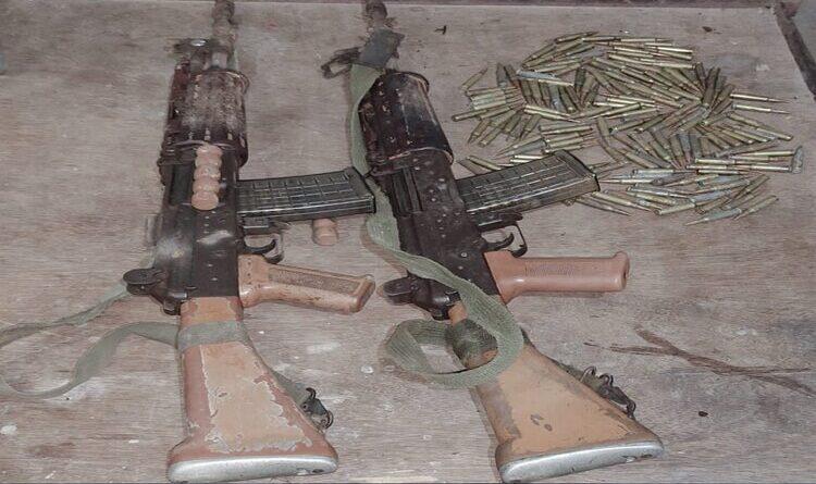 टीपीसी के चार उग्रवादी हथियार के साथ गिरफ्तार