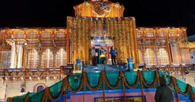 श्री बदरीनाथ धाम के कपाट खुले, मोदी की ओर से पहली पूजा