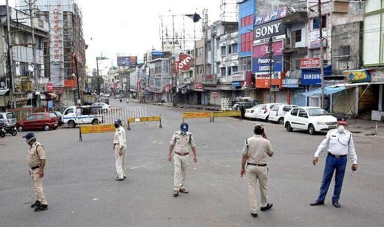 झारखंड में 38 घंटे का लॉकडाउन शुरु, पुलिस की रहेगी विशेष चौकसी