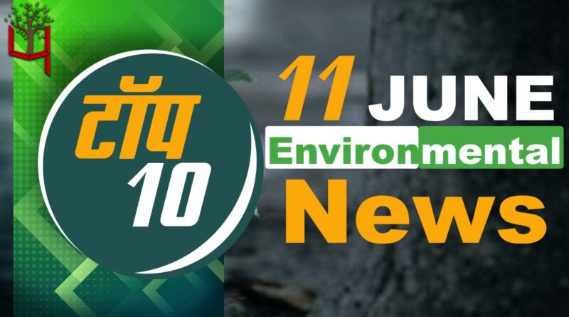 11 June 2021: Today's Top Most 10 Environmental News।Weather news in India।Latest News Update