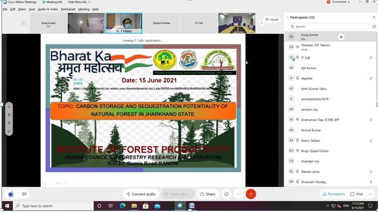 भारत सरकार एवं भारतीय वानिकी अनुसंधान एवं शिक्षा परिषद देहरादून के निर्देश पर आयोजित हुआ कार्यक्रम