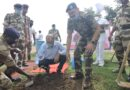सीआईएसएफ ने मेगा ट्री प्लांटेशन के तहत किया वृक्षारोपण