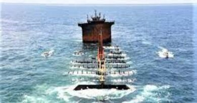 भारतीय नौसेना ने श्रीलंका में डूबे सिंगापुर के जहाज का मलबा खोजा