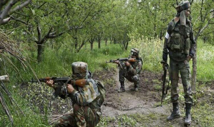 बांडीपोरा मुठभेड़ में दो आतंकी ढेर, सेना के तीन जवान घायल