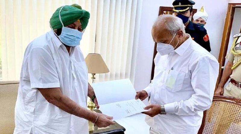 पंजाब के मुख्यमंत्री पद से कैप्टन अमरिंदर सिंह ने दिया इस्तीफा, सुनील जाखड़ हो सकते है नए सीएम !