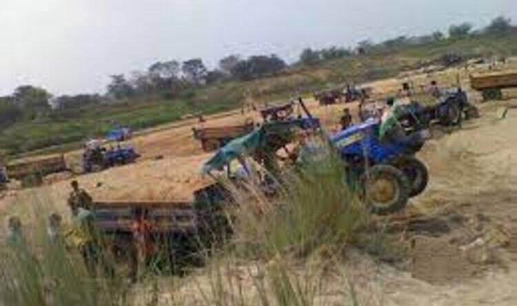 थम नहीं रहा खूंटी जिले में बालू तस्करी का धंधा